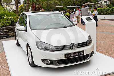 Volkswagen Golf VI 2008-2012 Model Editorial Photography