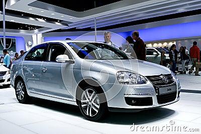 Volkswagen Jetta Editorial Photo