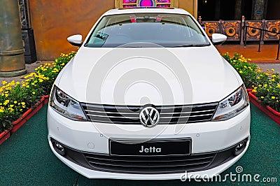 Volkswagen jetta Editorial Image