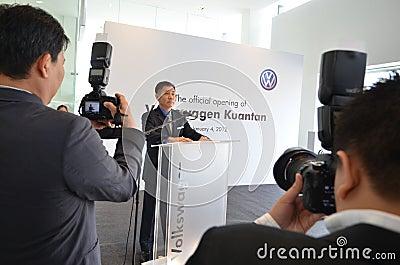Volkswagen Kuantan ,Malaysia Showroom Launch 2012 Editorial Image