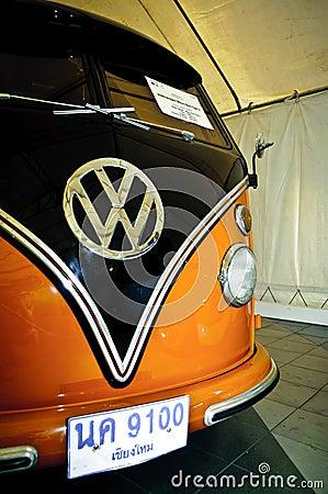 Volkswagen Micro Bus Type 2 Editorial Stock Photo