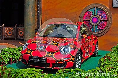 Volkswagen new beetle cabriolet Editorial Photo