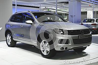Volkswagen Touareg Hybrid Editorial Image