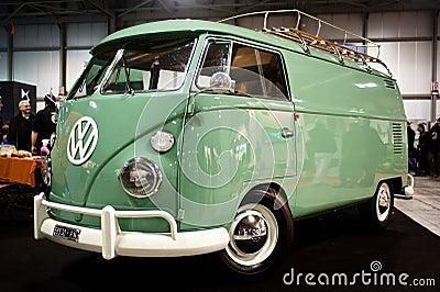 Volkswagen vintage van Editorial Stock Image