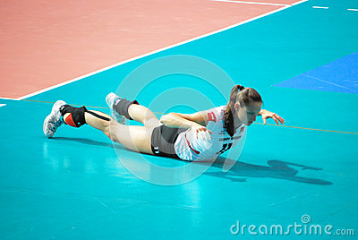 Vollayball Editorial Stock Image
