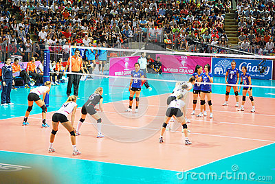 Vollayball Editorial Image