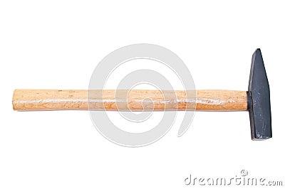 Volledige hummer op wit