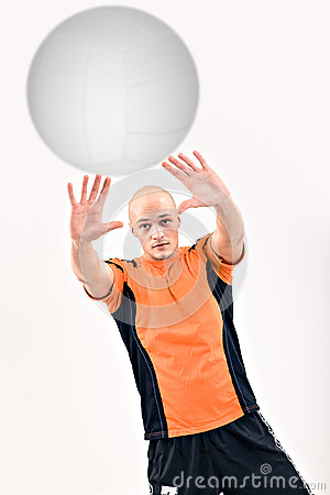 Volley player