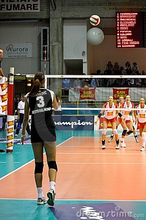 Volley - Volleyball All Star Game 2008 Editorial Photo