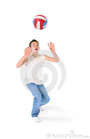 Free Volleyball Royalty Free Stock Image - 1745016