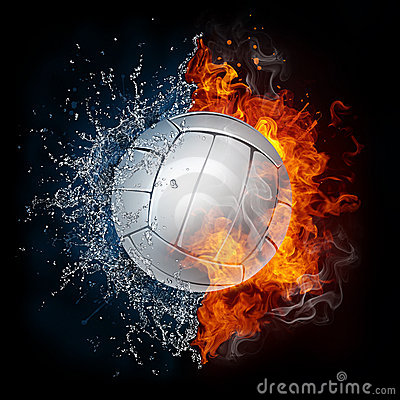 Free Volleyball Ball Stock Photography - 19761782
