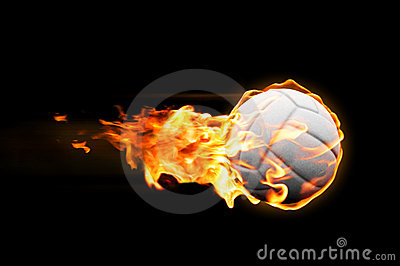 Volleyball flames