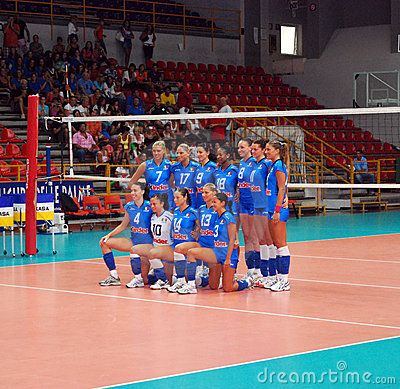 Volleyball: The Italian Team Editorial Photography