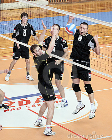 Volleyball match Editorial Image