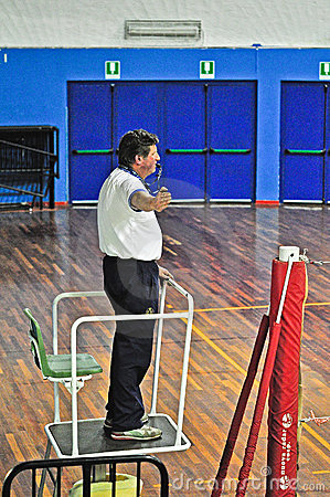Volleyball match Editorial Photo