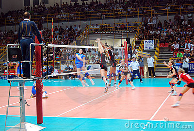Volleyball: Preolympic Test Match Editorial Stock Photo