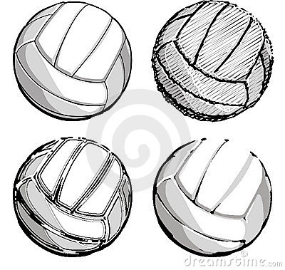Volleyball / Volleyballs Vector Images