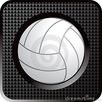 Volleyball web button