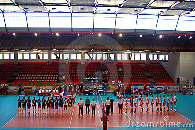 Volleyball: World Gran Prix Editorial Photo