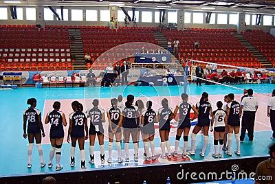 Volleyball: World Grand Prix Editorial Stock Image