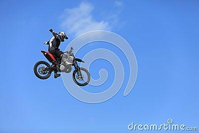 Volo della bici Immagine Stock Editoriale
