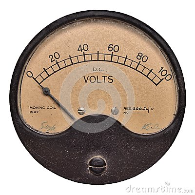 Voltmeter 100v dated 1947