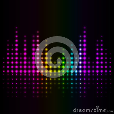 Volume abstract background