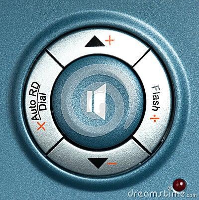 Free Volume Button Stock Image - 12810731