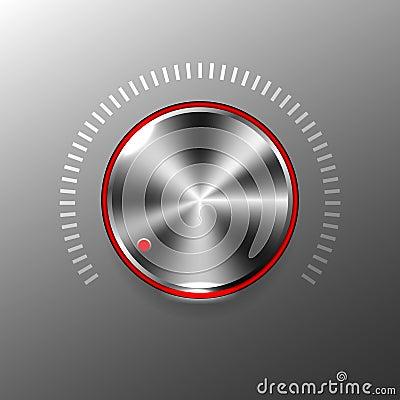 Free Volume Button Stock Photos - 43941693