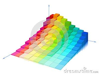 Volume diagram on a white background.