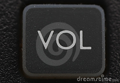 Volume key from old cell phone