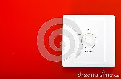 Volume switch button