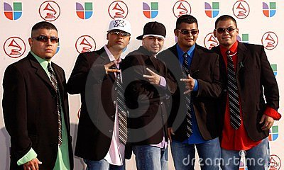 Volumen X at the 6th Annual Latin Grammy Awards. Shrine Auditorium, Los Angeles, CA. 11-03-05 Editorial Photo