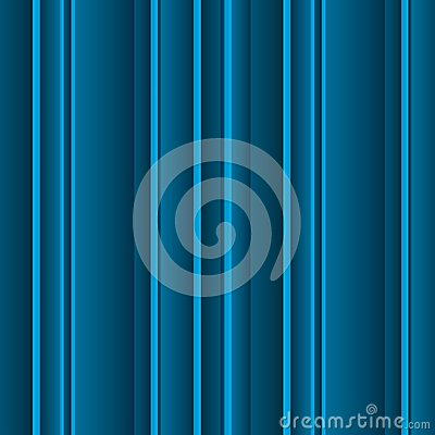Volumetric blue lines background