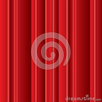Volumetric red lines background
