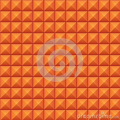 Volumetric texture of orange cubes