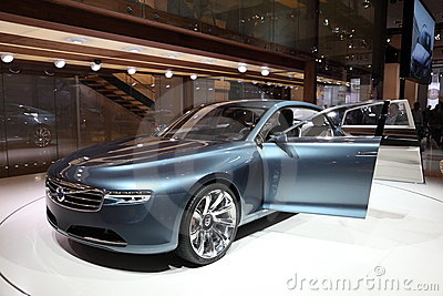 Volvo Concept Car You at IAA Editorial Stock Image