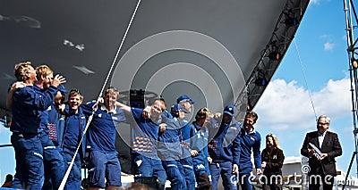 Volvo Ocean Race 2008-2009 stopover Stockholm Editorial Image