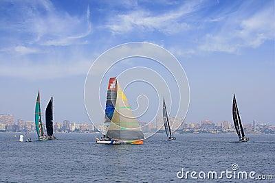 Volvo Ocean Race 2011 - 2012 Editorial Photography