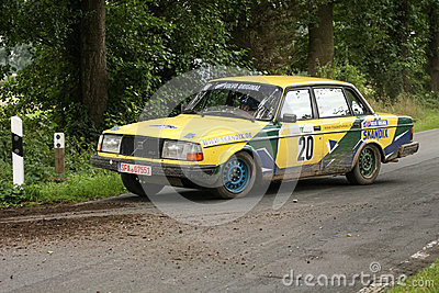 Volvo Rallye Car Editorial Stock Photo