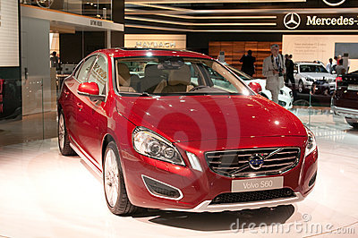 Volvo S60 - Russian premiere Editorial Stock Photo