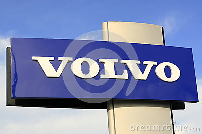Volvo sign Editorial Stock Image