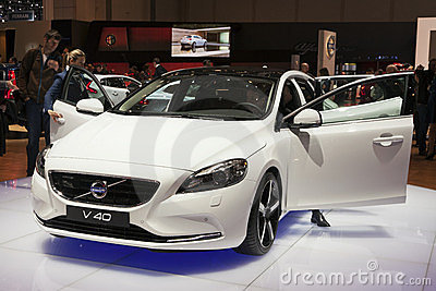 Volvo V40 Editorial Stock Image