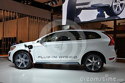 Volvo XC-60 Hybrid Editorial Photography