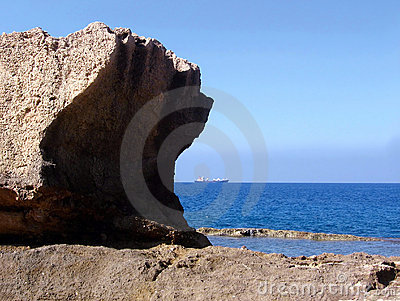 Vom Felsen