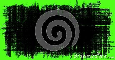 Von Hand gezeichneter Gekritzelübergang, Gekritzel und Skizzeneffekte mit schwarzer Farbe zeichnen auf Farbenreinheitsschlüsselgr lizenzfreie abbildung