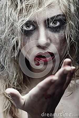 Voodoo witch