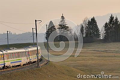 Voralpen-express Bei Sattel Free Public Domain Cc0 Image