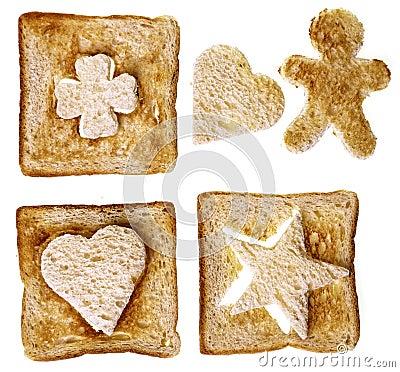 Vormen van brood