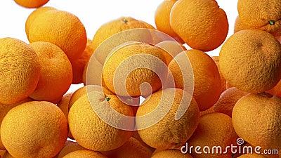 Vorming van DNA DNA-de bundels worden van mandarin geassembleerd die op witte achtergrond wordt ge?soleerd 3d 4K royalty-vrije illustratie